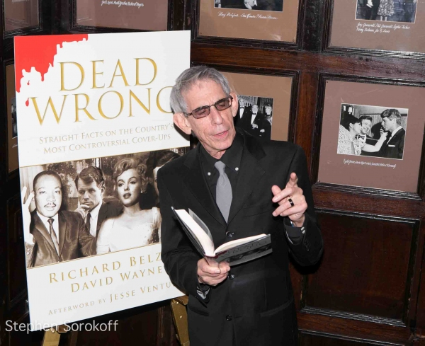 Richard Belzer at Friars Club Hosts 'Book Warming' for Richard Belzer and David Wayne's DEAD WRONG