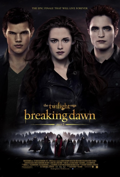 Photo Flash: International Poster Art Revealed For BREAKING DAWN: PART 2!