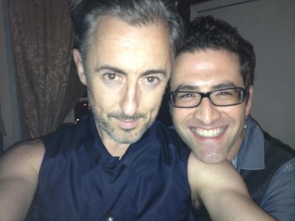Photo Flash: Alan Cumming Visits Ben Rimalower at PATTI ISSUES