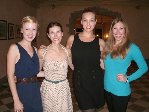 Erica Bittner, Diane Mair, Annelise Lawson and Megan Ingram