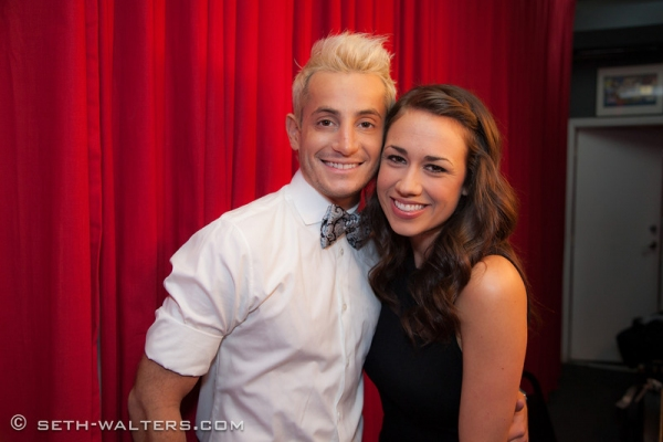 Frankie Grande and Colleen Ballinger