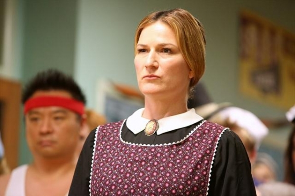 ANA GASTEYER at Sneak Peek at SUBURGATORY's Halloween Episode