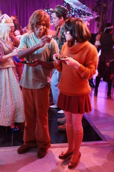 MAESTRO HARRELL, ALLIE GRANT    at Sneak Peek at SUBURGATORY's Halloween Episode