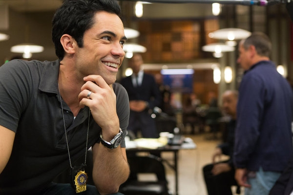Danny Pino at First Look at 10/24's Episode of LAW AND ORDER: SVU
