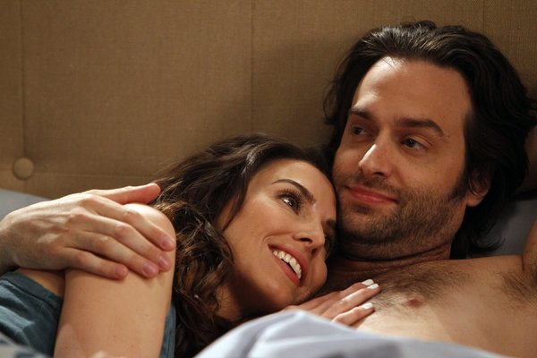 Whitney Cummings, Chris D'Elia at First Look at Season 2 Premiere Episode of WHITNEY