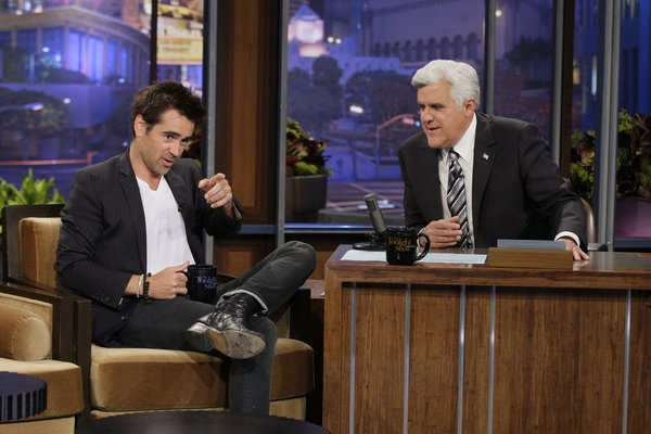 Colin Farrell, Jay Leno at Colin Farrell and more on Friday's TONIGHT SHOW WITH JAY LENO