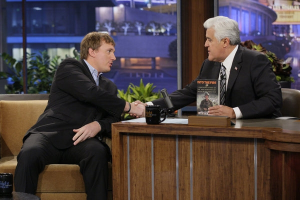 Dakota Meyer, Jay Leno  at Colin Farrell and more on Friday's TONIGHT SHOW WITH JAY LENO