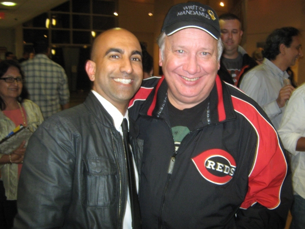 Rajiv Satyal and Rick Robinson