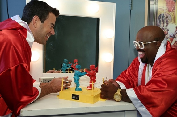 Photo Flash: Cee Lo Green Prepares for the Battle Rounds on Tonight's THE VOICE