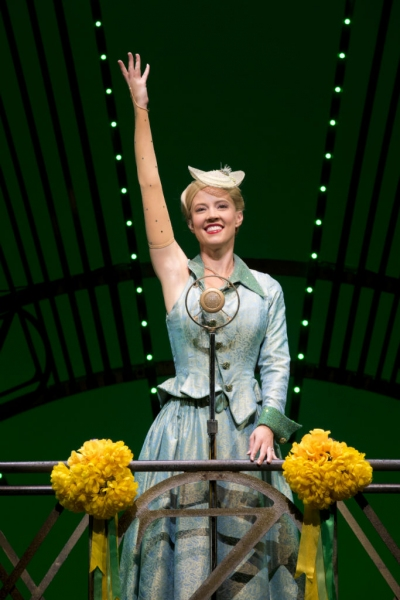 Photo Flash: First Look at Patti Murin, Cliffton Hall and More in WICKED First North American Tour