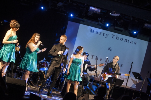 Marty Thomas & The Divas; Samia Mounts, Marissa Rosen and Alexa Green