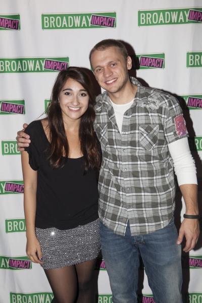 Krystina Alabado and Matt DeAngelis