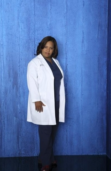 Chandra Wilson at Cast Photos for ABC's GREY'S ANATOMY Season 9