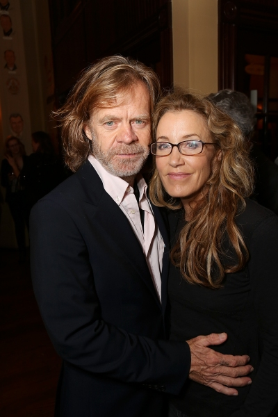 "From left, actor William H. Macy and cast member Felicity Huffman pose during the party for the opening night performance of ""November"" at the Center Theatre Group/Mark Taper Forum on Sunday, Oct. 7, 2012, in Los Angeles, Calif. (Photo by Ryan Miller/Cap"