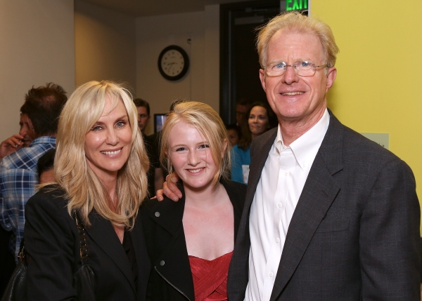 From left, actress Rachelle Carson-Begley, Hayden Carson-Begley and cast member Ed Be Photo