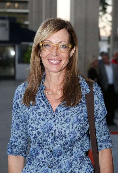 "Allison Janney poses during the arrivals for the opening night performance of ""November"" at the Center Theatre Group/Mark Taper Forum on Sunday, Oct. 7, 2012, in Los Angeles, Calif. (Photo by Ryan Miller/Capture Imaging)"