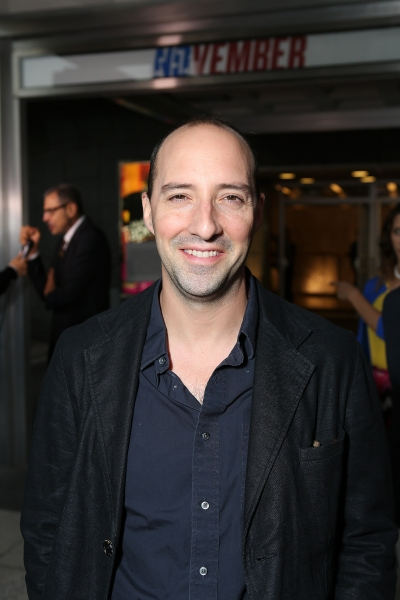 "Tony Hale poses during the arrivals for the opening night performance of ""November"" at the Center Theatre Group/Mark Taper Forum on Sunday, Oct. 7, 2012, in Los Angeles, Calif. (Photo by Ryan Miller/Capture Imaging)"
