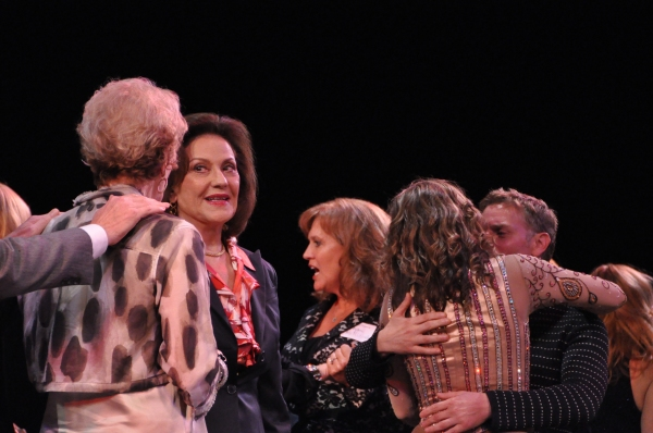 Mitzi Hamilton, Kelly Bishop and Rachelle Rak