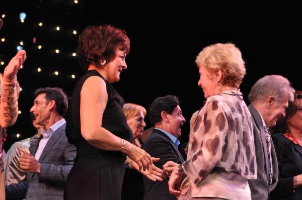 Priscilla Lopez and Mitzi Hamilton