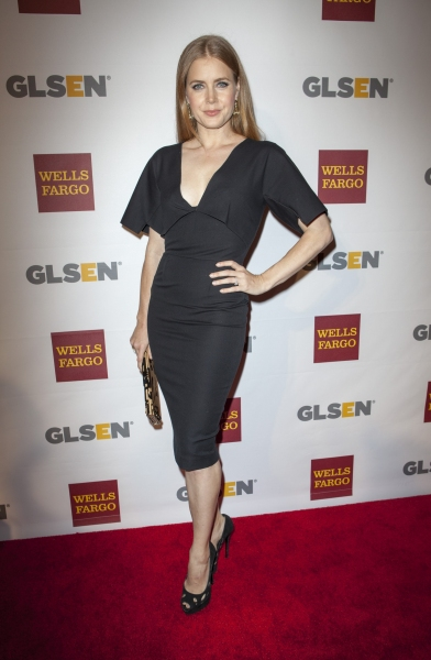 Amy Adams at the 8th Annual GLSEN Respect Awards (Photo by Everett Collection / Rex USA)