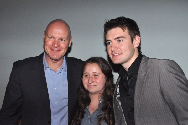 George Donaldson and Emmet Cahill meet the fans