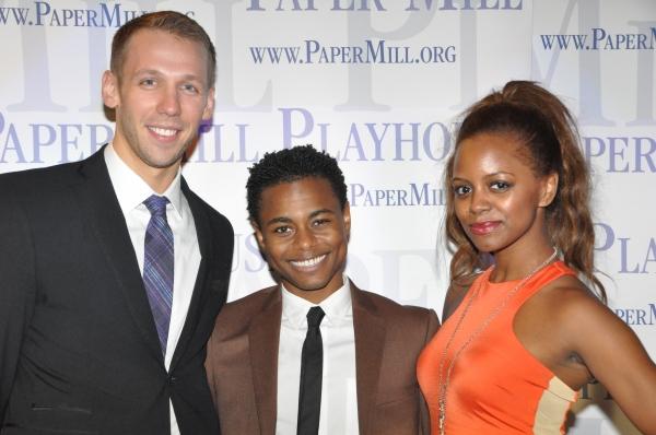 Matthew Schmidt, Kevin Curtis and Krystal Brown