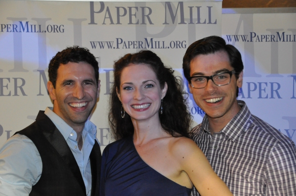 David Perlman, Amanda Rose and Trey Gerrald Photo