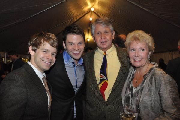 Andrew Keenan-Bolger, Brian Letendre and Mitzi Hamilton