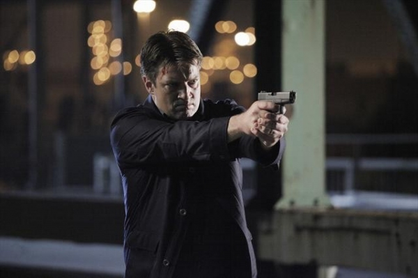 NATHAN FILLION    at First Look at CASTLE's Upcoming Episode to Air 10/29
