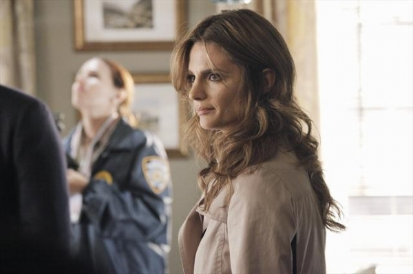 STANA KATIC   at First Look at CASTLE's Upcoming Episode to Air 10/29