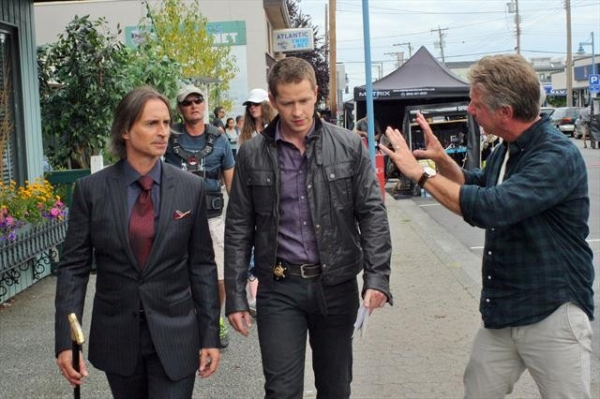 ROBERT CARLYLE, JOSH DALLAS, DAVID SOLOMON (DIRECTOR) 