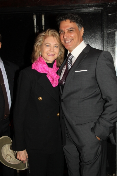 Maria Cooper Janis and Robert Cuccioli