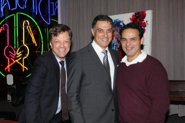 Jim Caruso, Robert Cuccioli and Ruben Flores  at Robert Cuccioli Brings A STANDARD LOVE to Birdland