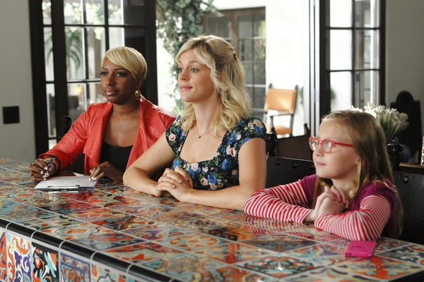 NeNe Leakes, Georgia King, Bebe Wood at First Look - Tonight's Episode of THE NEW NORMAL on NBC