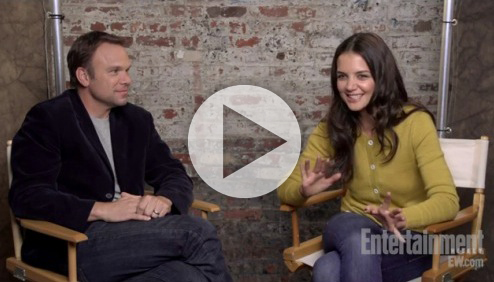 STAGE TUBE: Katie Holmes and Norbert Leo Butz Talk DEAD ACCOUNTS With Entertainment Weekly!