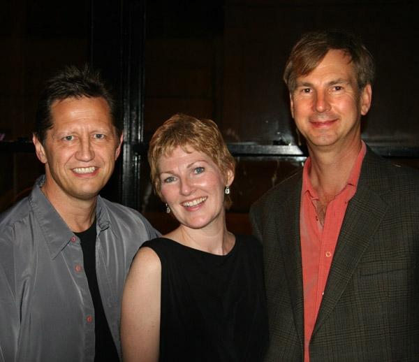 left to right: Kevin Bailey, Joanna O'Brien, Tom Griep