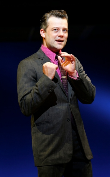 Jeremy Kushnier at Jarrod Spector, Drew Gehling Return to JERSEY BOYS!