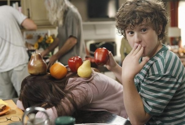 Nolan Gould at Behind-the-Scenes of MODERN FAMILY's Halloween Episode