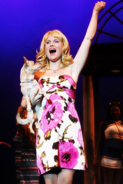 Autumn Hurlbert at First Look at Autumn Hurlbert and More in North Carolina's LEGALLY BLONDE