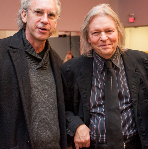 David Esbjornson and Christopher Hampton