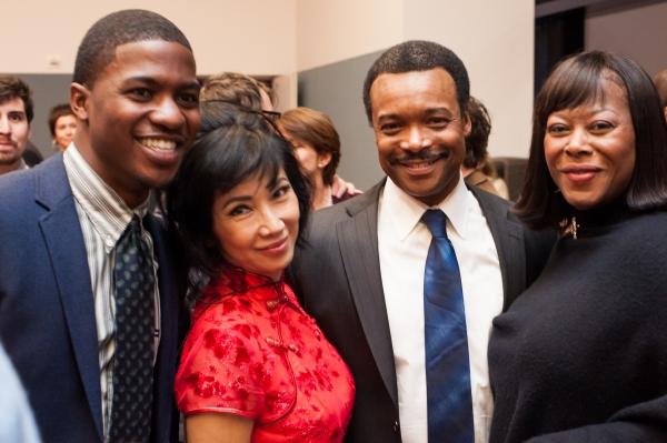 Ernest Bentley, Tiana Alexandra-Silliphant, Shawn Hamilton and Greta Oglesby Photo