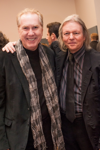 Harry Groener and Christopher Hampton