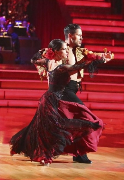Val Chmerkovsky,Kelly Monaco at Highlights from Last Night's DWTS: ALL STARS