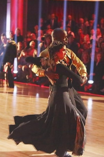 Emmitt Smith,Cheryl Burke at Highlights from Last Night's DWTS: ALL STARS