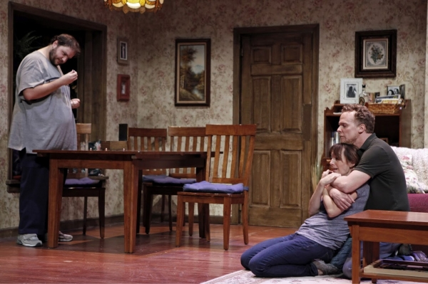 Photo Flash: First Look at Julia Murney, Daniel Everidge in FALLING