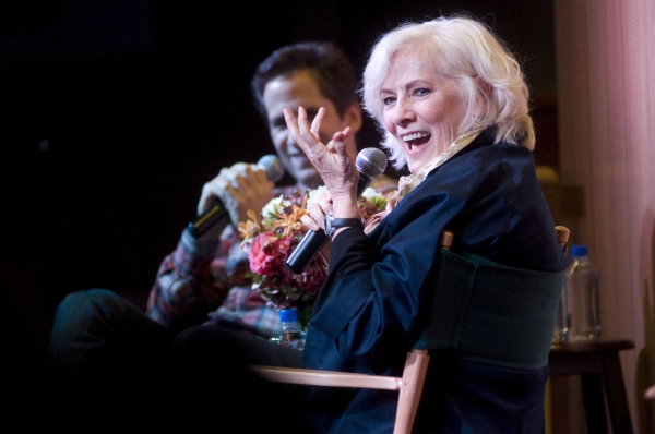 Seth Rudetsky, Betty Buckley at Betty Buckley Sings from  'Ah, Men!' at Barnes & Noble