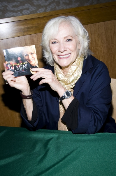 Betty Buckley at Betty Buckley Sings from  'Ah, Men!' at Barnes & Noble