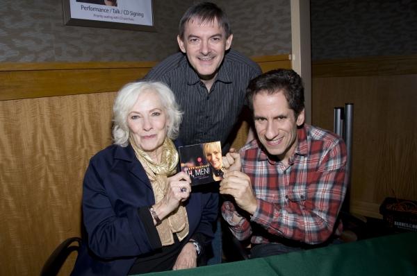Betty Buckley, Christian Jacob, Seth Rudetsky Photo