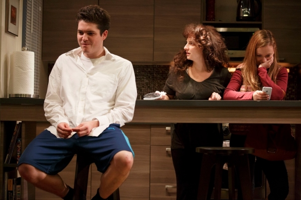 Philip Ettinger, Tracee Chimo and Molly Ranson at First Look at Joshua Harmon's BAD JEWS at Roundabout