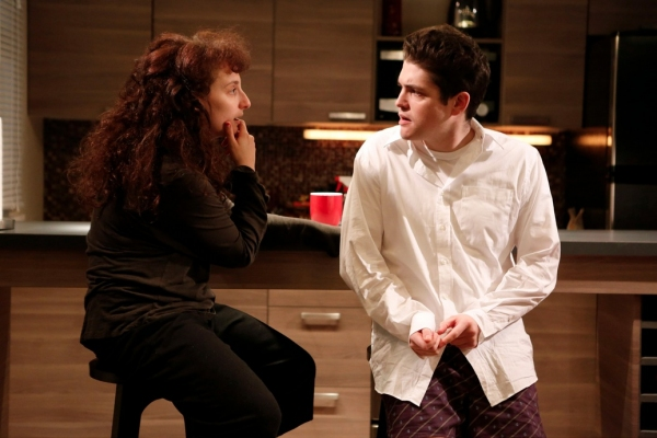 Tracee Chimo and Philip Ettinger at First Look at Joshua Harmon's BAD JEWS at Roundabout